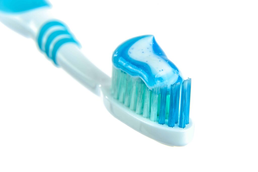 the toothbrush can store millions of bacteria